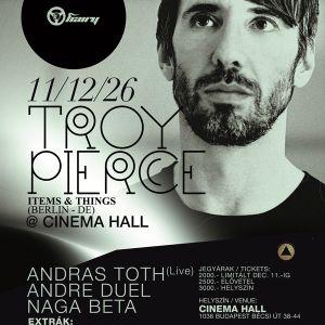 Hairy Presents Troy Pierce @ Cinema Hall 2011.12.26.