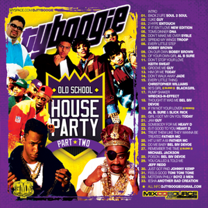 "DJ Ty Boogie - Old School House Party Vol 2 "" 2008 """