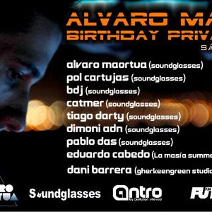ALVARO MAORTUA BIRTHDAY PRIVATE PARTY 2012 (24.11.2012-Antro By Evolution, villareal)