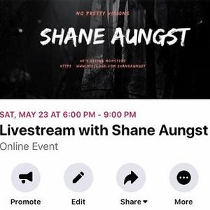 Livestream with Shane Aungst 05-23-20