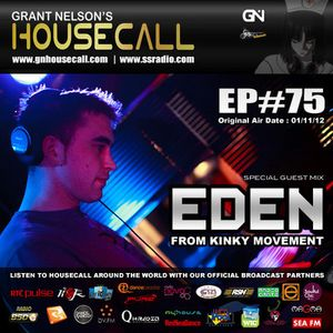 Kinky Movement Guest Mix - Grant Nelson's Housecall Radio Nv 2012