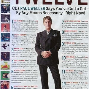 Paul Weller's Must Have 12 Albums!