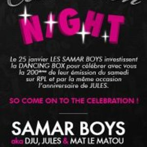 Celebration Night @ Dancing/Box - H2O Club - 25/01/2013 - Part3 : Jules / Mat Le Matou