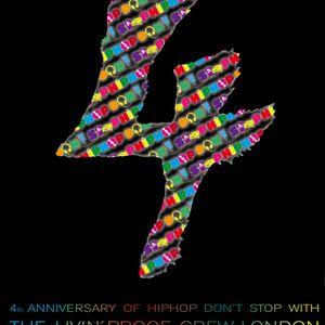 HipHop Don't Stop Radio Show #9 on 93,6 Jam FM gefeiert von K1X feat. Livin' Proof Crew (London)