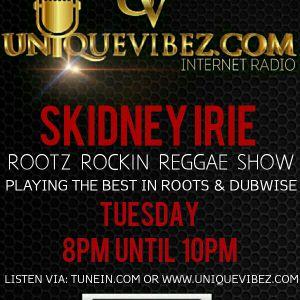 ROOTZ ROCKIN REGGAE VIBEZ RADIO SHOW 17th october 2017