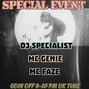 ONE DJ TWO MC'S   DJ SPECIALIST MC GENIE MC FAZE LIVE ON BNBLONDONRADIO.COM p2 080216