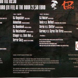 DJ Smurf at PORN. Belgium - 13/2/2004