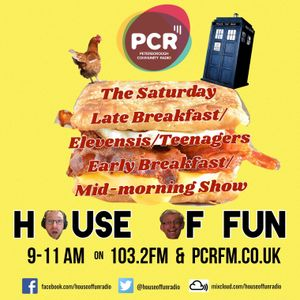House Of Fun Broadcast LIVE 8th July 2017 on PCR 103.2 FM