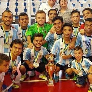 Jesús Bordón, campeón con la Selección Argentina de talla baja, en Radio Lumpen