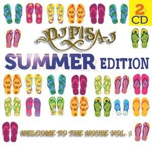 "Dj Pisa-J  ""Welcome To The House Vol. 1"""