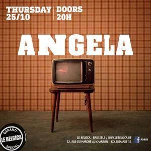 Dj Angela @Le Belgica 25.10.18
