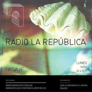 La República  episodio LXXVIII - PASAJE /Selva