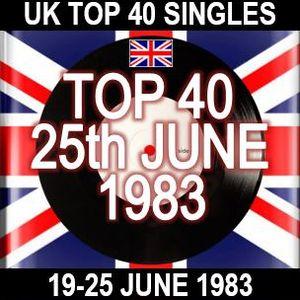UK TOP 40: 19-25 JUNE 1983