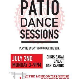Patio Session Recorded Live Cantos GaDJet Sakai