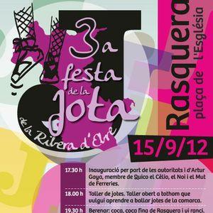 3ª Festa de la Jota de la Ribera d'Ebre.