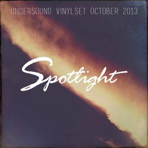 Undersound - Vinyl Selection - 24 October 2013