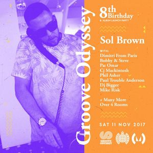 Sol Brown - Groove Odyssey 8th Birthday Promo Mix