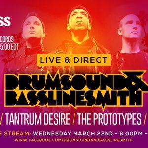 Drumsound & Bassline Smith - Live and Direct #30 DJSS, The Prototypes, Tantrum Desire, Bladerunner