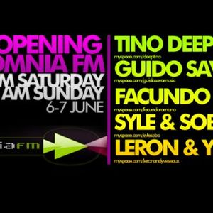 Tino Deep-Opening Set For Grand Opening on InsomniaFm [June 06,07 2009] on InsomniaFm