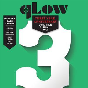 Dubjunk - Glow 3 Year Anniversary mixtape (1 juni dubstep @W2 met J:Kenzo)