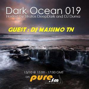 Dark Ocean Show Episode 19  _DJ Massymo TN Guest  Mix  @ PURE FM [13-10-2011]
