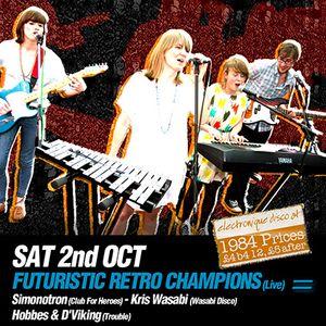 Devil Disco Club, Edinburgh (2nd October '10)