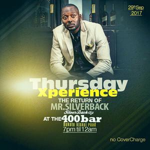 TXP 28TH SEPT 2017 Hostedby Mr Silverback live at The400Bar Bukoto kisaasi Road