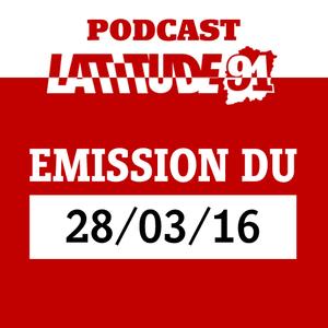 Emission lundi 28 mars 2016
