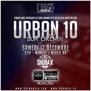 OKLM RADIO #OKLMix #Urban10 17/12/16