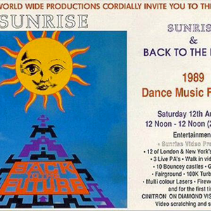 Unknown@Sunrise & Back To The Future 1989 Dance Music Festival, Longwick Park 12.08.1989 [A]