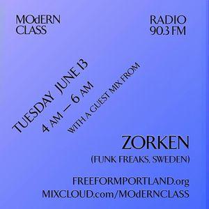 MOdERN CLASS on Freeform Portland 90.3 FM #5 w/ guest mix from Zorken (Funk Freaks, Sweden)