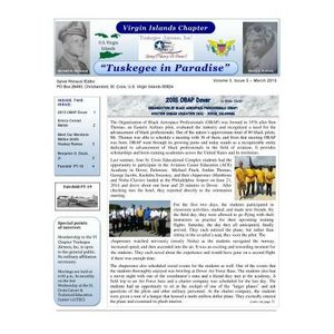 Salute to the Tuskegee Airmen of the Virgin Islands