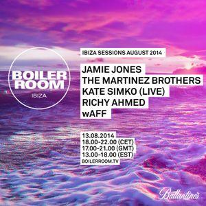 wAFF - Live At Boiler Room (Ibiza) - 13-08-2014 [Sh4R3 OR Di3]
