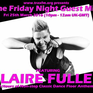 Claire Fuller On Trax FM! - 25th March 2016