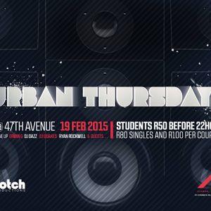 @DJDazzG_SA - Urban Thursday (Old School Hip Hop)
