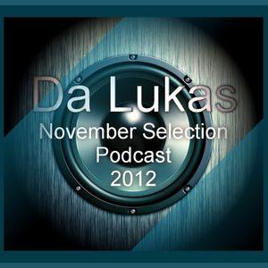 Da Lukas November Selection 012 Podcast