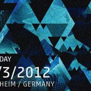 Dubfire - Live @ Time Warp 2012 (Mannheim) - 31.03.2012