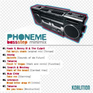 Phoneme - BassStep minimix [2007]