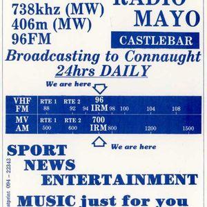 "Recording of Mayo pirate ""Independent Radio Mayo"" IRM - (Eamon Kelly)"
