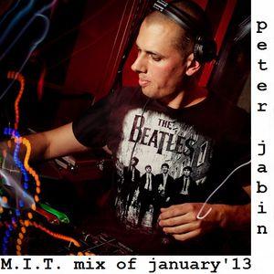 peter jabin - M.I.T. mix of january'13