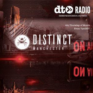 Distinct Manchester Show 3 with Michael James Guest mix