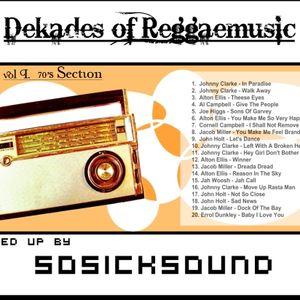 SoSick - Reggae Dekades vol. I - 70's Section Mix
