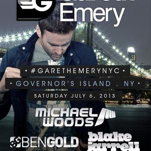 Gareth Emery - Live @ Governors Beach Club Governors Island New York City (USA) 2013.07.06.