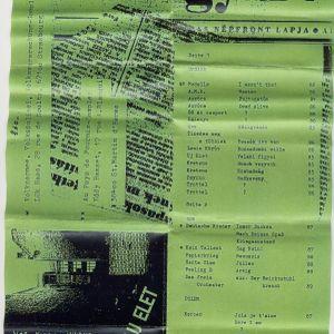 Uj Elet Tape - Ungarn,-DDR,-Polen Punk Rock Sampler (1989) + Fanzine