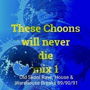 These Choons will never die mix  89/90/91 (Old Skool Rave, House & Warehouse Breaks) - Bones-E-boy