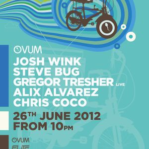 Josh Wink & Steve Bug & Chris Coco & Alix Alvarez - Live @ Ovum, Space Ibiza, Espanha (26.06.2012)
