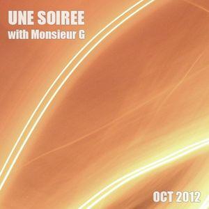 Une Soirée With Monsieur G #October 2012#