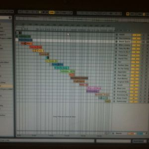Little Ableton live mix up 4th August 2011