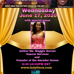 Author Maggie Gardner Appearance on the Lady Flava Show on Lady Flava Radio Network