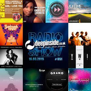 DEEPINSIDE RADIO SHOW 051 (The Sunburst Band Artists of the week)